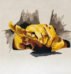 Apaiser - Acrylique sur toile - 115x115 cm