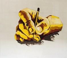Ecrire - Acrylique sur toile - 130x130 cm
