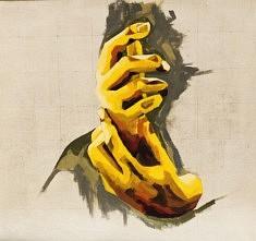 Mûrir - Acrylique sur toile - 115x115 cm