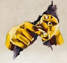 Résoudre - Acrylique sur toile - 130x130 cm