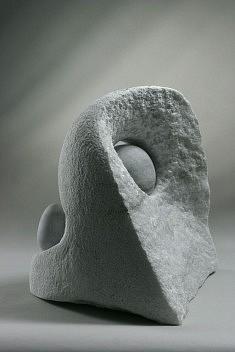 Paysage 2. albâtre, 40 cm, 2005