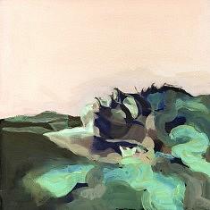Ophelia - huile sur papier (40x40) - 2016
