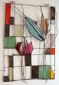 Fleurs, hommage à  Charles Rennie Mackintosh
