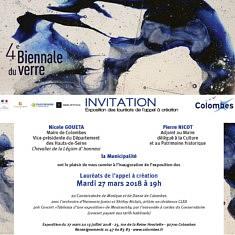 Biennale du verre contemporain à Colombes