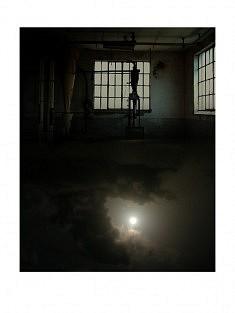 """""""7ème ciel - 1h"""" , photomontage - tirage sur papier mat satiné 30 x 40 cm"""