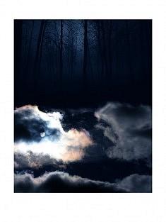 """""""7ème ciel - 2h"""" , photomontage - tirage sur papier mat satiné 30 x 40 cm"""