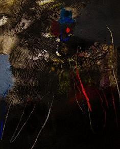 """""""XVI-01"""",  acrylique sur papier 27 x 34 cm"""