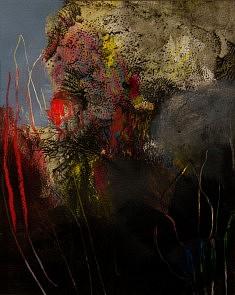 """""""XVI-02"""",  acrylique sur papier 27 x 34 cm"""